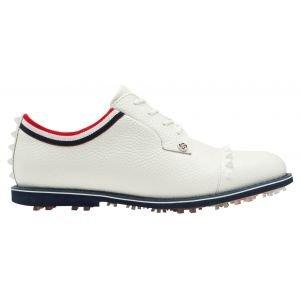 G/Fore Ladies Grosgrain Stud Cap Toe Gallivanter Golf Shoes Snow