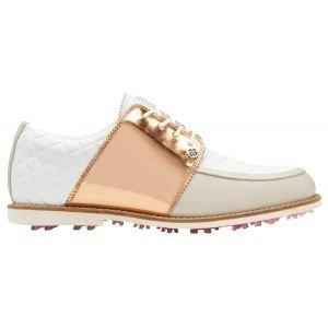 G/Fore Women's Quilted Gallivanter Golf Shoes Rose Gold