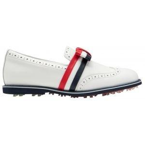 G/Fore Women's Ribbon Brogue Cruiser Gallivanter Golf Shoes Snow
