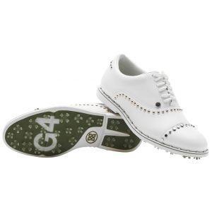 G/Fore Womens Welt Stud Gallivanter Golf Shoes - Snow