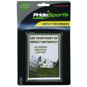 Golf Ball Impact Recorders