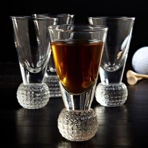 Golf Ball Dimpled Shot Glasses