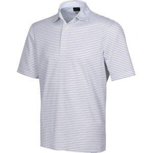 Greg Norman 2below Protek Ml75 Microlux Stripe Golf Polo - ON SALE