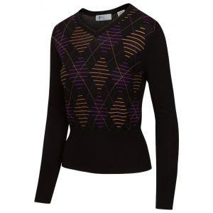 Greg Norman Ladies Imperial V-Neck Golf Sweater