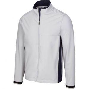 Greg Norman Weatherknit Waterproof Full Zip Golf Jacket