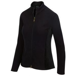 Greg Norman Ladies Full Zip Fleece Velour Golf Jacket