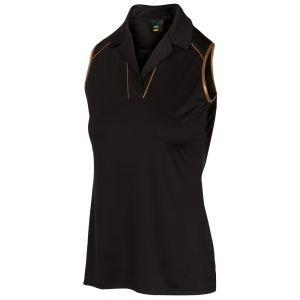 Greg Norman Women's ML75 Throne Sleeveless Golf Polo