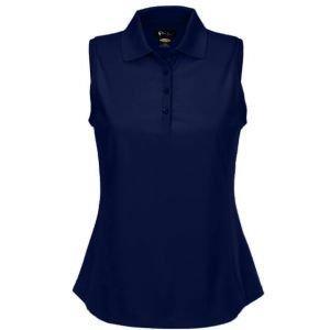 Greg Norman Womens Sleeveless Pro Tek Pique Golf Polo Shirt
