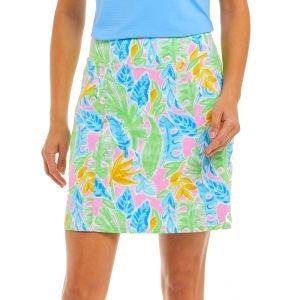 IBKUL Ladies Allison Print Knit Golf Skort 29748