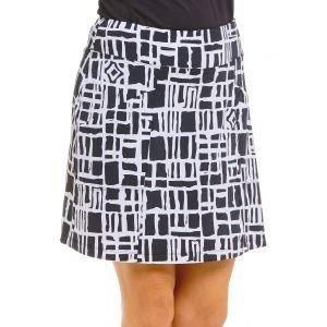 IBKUL Ladies Out Of The Box Print Knit Golf Skort 29753