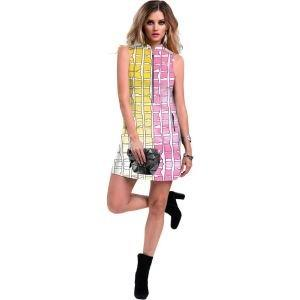 Jamie Sadock Women's Shibori Sleeveless Golf Dress
