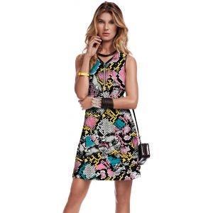 Jamie Sadock Women's Airwear Sleeveless Rainbow Snake Golf Dress