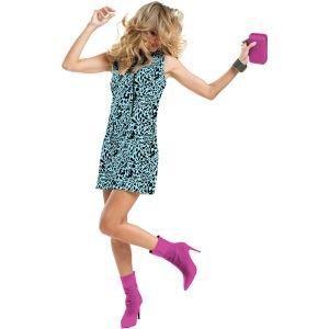 Jamie Sadock Ladies Sleeveless Feline Golf Dress