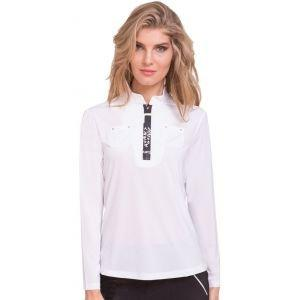 Jamie Sadock Womens Sunsense Mock Neck Golf Top 01155