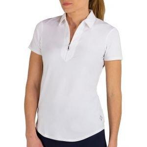 JoFit Womens Performance Golf Polo White