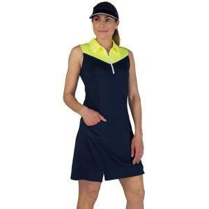 JoFit Women's Sleeveless Pointed Yoke Golf Dress