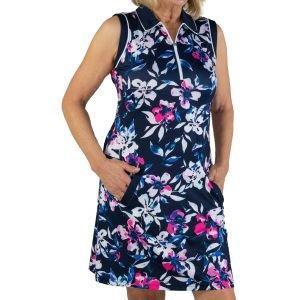 JoFit Women's Sleeveless Polo Golf Dress