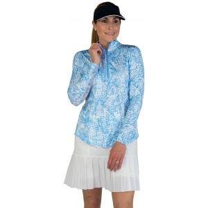 JoFit Women's UV Mock With Mesh Golf Top