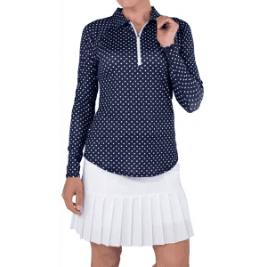 JoFit Womens Long Sleeve UV Golf Polo UT109
