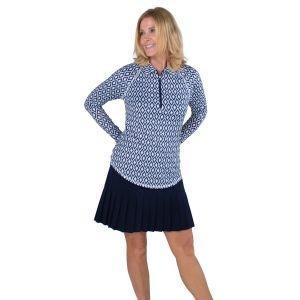 JoFit Womens Long Sleeve UV Golf Polo UT109