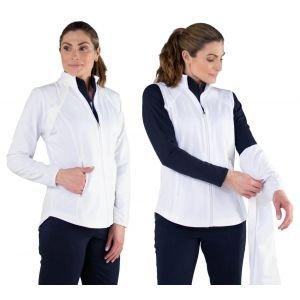 JoFit Womens Golf Jacket With Removable Sleeves