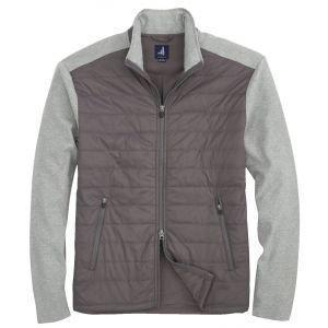 johnnie-O Calvin 2-Way Zip Polar Quilted Golf Jacket