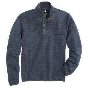 johnnie-O Halpert Snap Henely Quilted Golf Pullover
