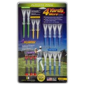 4 Yards More Players Pack Golf Tees