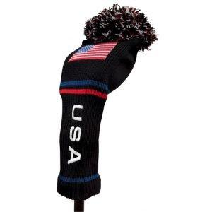 Stars and Stripes USA Pom Pom Driver Headcover