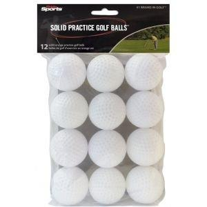 Pride Sports Practice Golf Balls Wiffle White