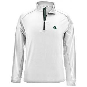 Levelwear Michigan State Spartans Peak Quarter-Zip Golf Pullover