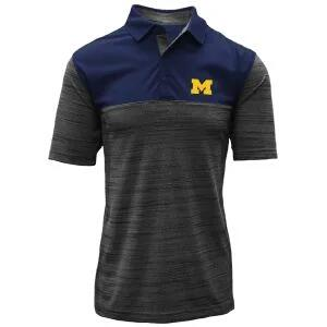 Levelwear University Of Michigan Elevate Golf Polo