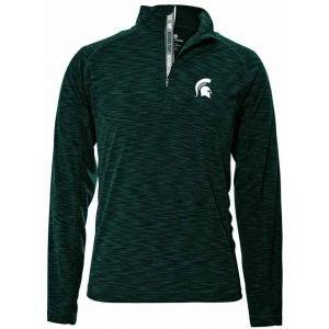 Levelwear Michigan State Spartans Mobility Quarter-Zip Golf Pullover