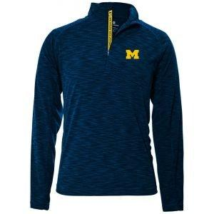 Levelwear University of Michigan Mobility Quarter-Zip Golf Pullover