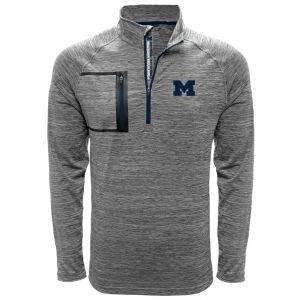 Levelwear University Of MIchigan Vault Quater-Zip Golf Pullover