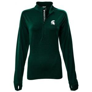 Levelwear Womens Michigan State Spartans Pacer Golf Pullover