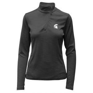 Levelwear Womens Michigan State Spartans Wave Golf Pullover