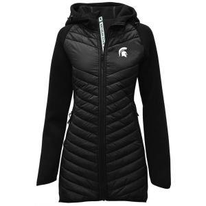 Levelwear Womens Michigan State Spartans Verve Luna Golf Jacket