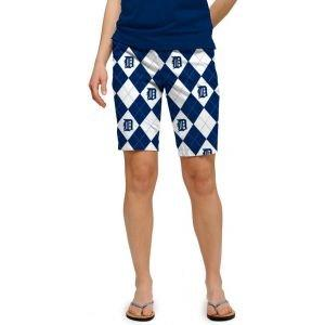 Loudmouth Womens Detroit Tigers Shorts