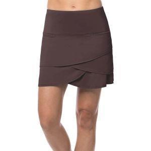 Lucky In Love Women's Scallop Short Skort