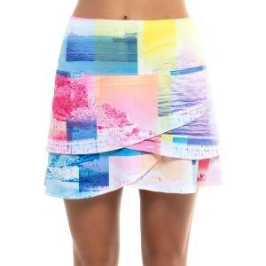Lucky In Love Oasis Golf Skort Short