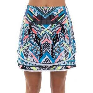 Lucky In Love Women's Square Are You Golf Skort Long
