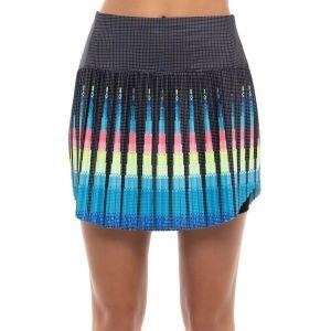 Lucky In Love Women's Squared Up Pleated Golf Skort Short