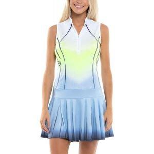 Lucky In Love Women's Sleeveless Wild Ombre Golf Dress