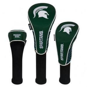 Michigan State Univeristy Golf Headcovers Set Of Three