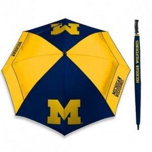 University Of Michigan Windsheer 62 Inch Golf Umbrella