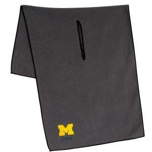 Team Effort Michigan Wolverines Microfiber Golf Towel - ON SALE
