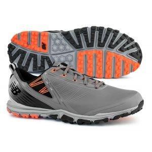 New Balance NBG1006 Minimus Spikeless Golf Shoes Grey/Orange