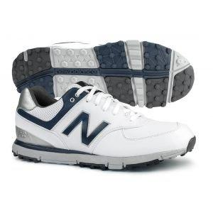 New Balance NBG574 Golf Shoes White/Navy - ON SALE