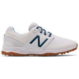 New Balance Womens Fresh Foam Links SL Golf Shoes White/Blueprint